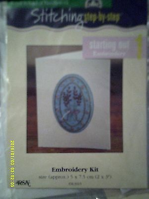 Royal School of Needlework Starting out 1  Embroidery Kit