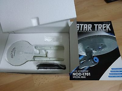 Star Trek Eaglemoss Starship Collection NCC1701 Special Issue with Magazine