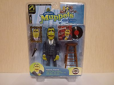 Muppets Palisades Action Figure. Johnny Fiama Vinyl Record Crooner