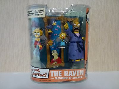 Simpsons McFarlane Action Figure The Raven Treehouse of Horror