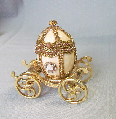 Authentic Pigeon Egg Carriage, Mara, Hand-detailed, Kingspoint Designs 40426