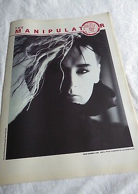 The MANIPULATOR Magazine #4 Fourth Issue (1985)