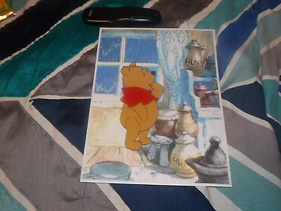 Hand Painted Handpainted Winnie The Pooh Animation Cel Cell Art