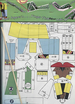 Miniature Golf Game - Paper Toy / Optical Toys