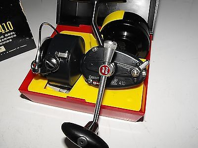 Vintage Garcia Mitchell 410 Fishing Reel New In Box Made in France