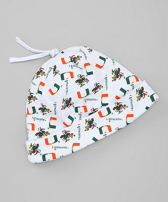 Miami Hurricanes Infant Beanie NWT