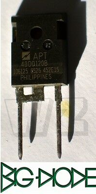 Apt40Dq120B To-247, Ultrafast Soft Recovery Rectifier Diode 40A 1200V 5