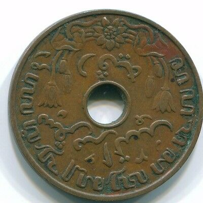 1938 Netherlands East Indies 1 Cent Bronze Colonial Coin S10264
