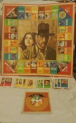 Indiana Jones from RAIDERS OF THE LOST ARK vintage board game/ incomplete parker