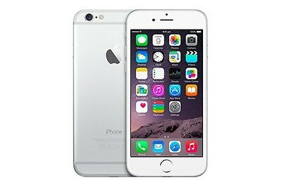 iPhone 6 16GB Silver Smartphone  - Bell Mobility (LOCKED)