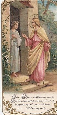 Image pieuse  Santino Holy Card Andachtsbild  St Anne de Liguori