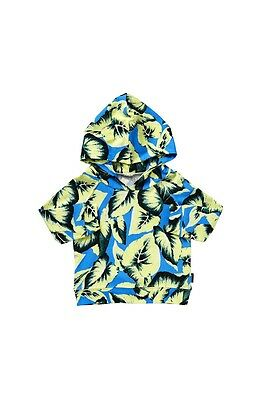 Baby boys Bonds lightweight summer printed hoodie top Size 0  1  2