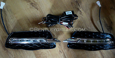 Mercedes C Class W204 DRL Daytime Running Lights Dimmable 2007-2011