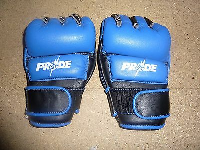 OFFICIAL PRIDE FC v2 Whitebolts MMA GLOVES Unsigned UFC RARE