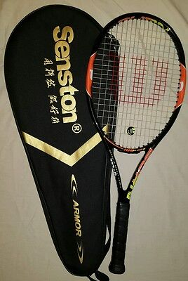 Wilson Burn 100 team tennis racket Grip 2 Excellent condition