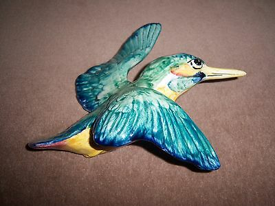 BESWICK FLYING KINGFISHER WALL PLAQUE Ref 729/2 (Middle size from set)