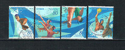 A6, Japan 2001,  complete set, used stamps