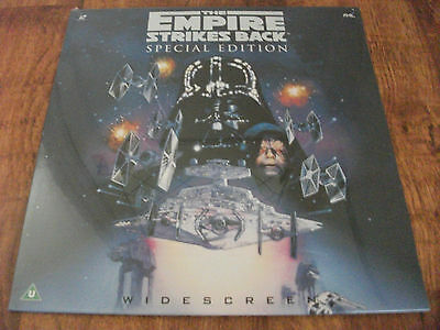 "The Empire Strikes Back.Laserdisc.Carrie Fisher.Rare Sci-Fi.""PAL"".SHRINKWRAPPED"