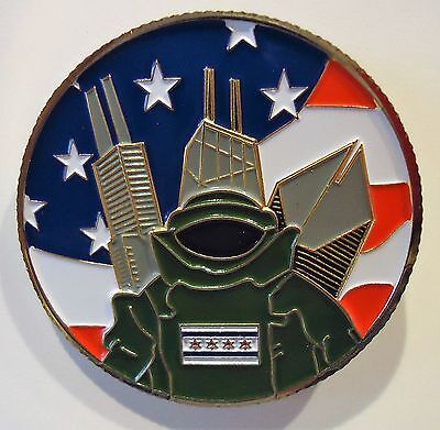 """Chicago Police """" BOMB SQUAD"""" CHALLENGE COIN"""