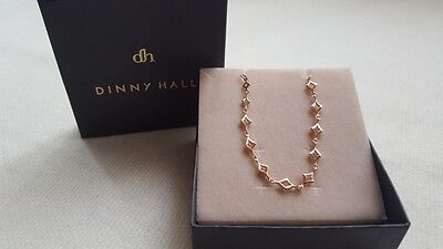 New Dinny Hall Bracelet 925 Sterling Silver and Gold Vermeil