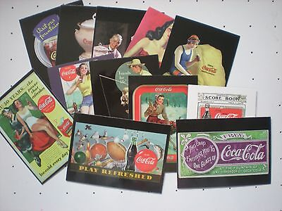 Collecor Cards, Coca-Cola, 9 sets, 724 cards in Pages and Binder