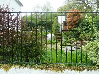 18 Metres Wrought Iron Metal Railings Handrails Cut To Your Size