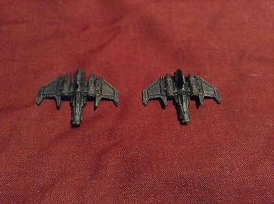 Epic Armageddon - Custom Made Xiphon Fighters (40k, Brand New)