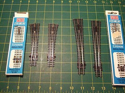 Peco N Gauge Code 80 Points Selection - Insulfrog - 6 Items