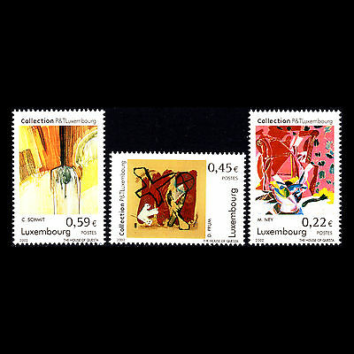 Luxembourg 2002 - Fine Art Collection - Sc 1085/7 MNH