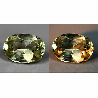 0.40 Cts_World Class Rarest Gemstone_100 % Natural Color Change Turkey Diaspore
