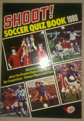 Shoot soccer quiz book 1980. Superb condition! Unspoilt! Retro. Collectable