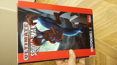 MARVEL DELUXE - Ultimate Spider-Man - Tome 4 IRRESPONSABLE en Français et TBE