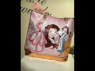 Art of Belle Beauty and the Beast Disney Store Tote Bag NWT - sold out