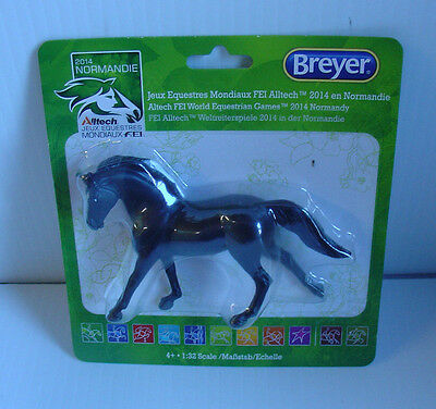 Breyer Model Horses FEI Limited Edition Black Hanoverian #9164 Galloping, Canter