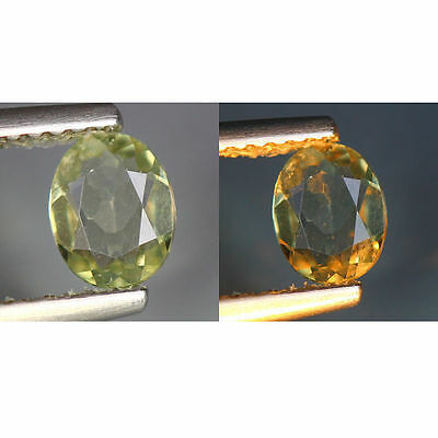 0.46 Cts_World Class Rarest Gemstone_100 % Natural Color Change Turkey Diaspore