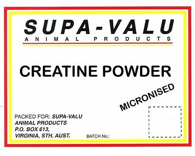 Pure Creatine Monohydrate Powder For Horses ~ 2Kg