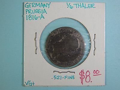 Germany:  Lot of four (4 ) German silver coins