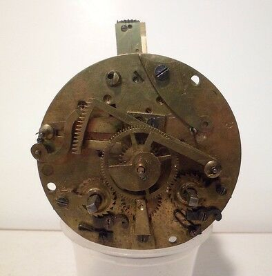 French Japy Feres 8 Day Time and Strike Clock Movement Parts