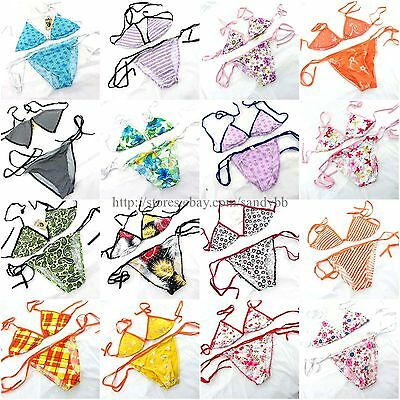 US SELLER- wholesale 10 sets Bikini Top and Bottom Set beach clothes for women