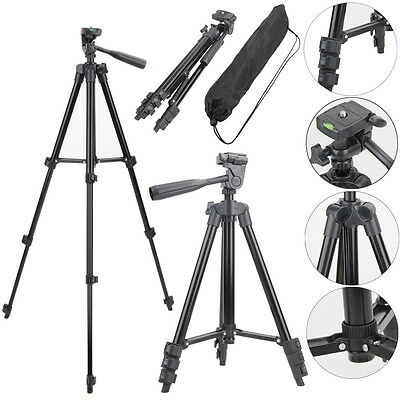 Digital Camera Camcorder Tripod Stand Holder Mount for Canon Nikon Sony with Bag