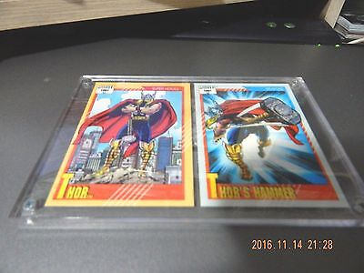 Thor # 48/ #128 Hammer - 1991 Marvel Universe Series 2 Impel Base Trading Cards