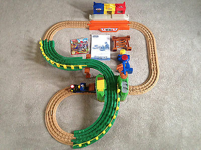 Fisher Price Geo Trax train set complete with manual