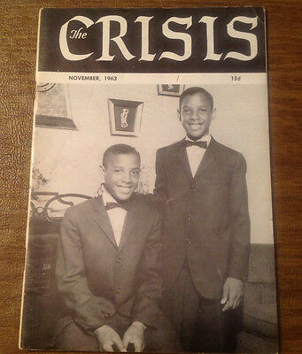 The Crisis: A Record of Darker Races NAACP Magazine November 1963, Civil Rights