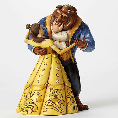 Disney Traditions Jim Shore Beauty and The Beast 25th Moonlight Waltz Figurine