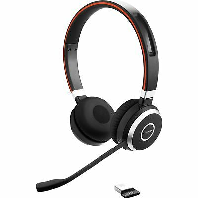 JABRA EVOLVE 65 UC DUO Wireless StereoHD Noise Canceling MS Certified Headset