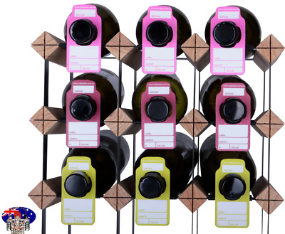 Wine Bottle Neck Tags - MULTI-COLOUR -150  Wine Tag Pack