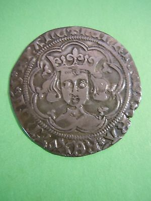 Henry Vi Silver Medieval Groat Beautiful Coin Cabinet Patina