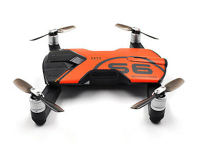 Wingsland S6 RC Drone WiFi w/ 4K UHD Video Camera FPV Quadcopter - Version 2