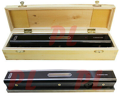 "8"" Master Precision Level Graduation .0005 Bar Level Measurement Leveler"