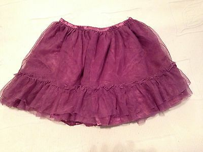 Gap Kids Skirt Girls Size 2 Todler Purple Ruffle Tulle